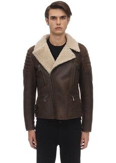 Belstaff Fraser Lightweight Shearling Jacket