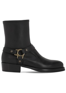 Belstaff Hard Rider Rugged Leather Boots