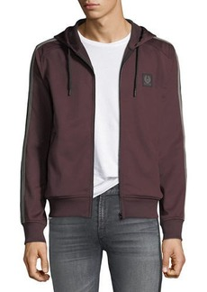 Belstaff Hooded Zip-Front Track Jacket