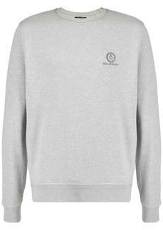 Belstaff logo embroidered crew neck sweatshirt