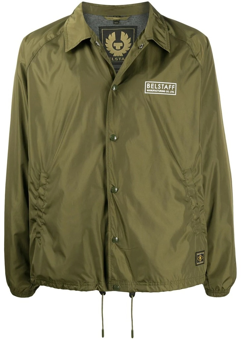 Belstaff logo printed lightweight jacket