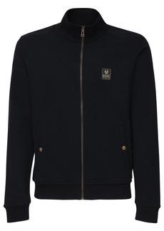 Belstaff Long Way Up Full Zip Cotton Sweatshirt