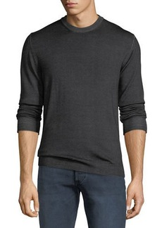 Belstaff Men's Blakemere Garment-Dyed Wool Sweater
