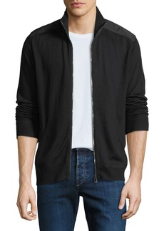 Belstaff Men's Coombewood Wool Zip-Front Jacket