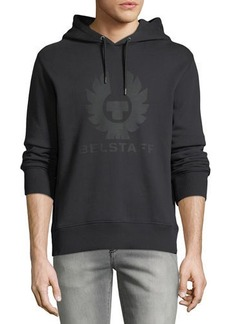 Belstaff Men's Langdon Graphic Modern Fleece Hoodie