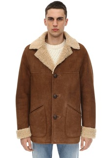 Belstaff Merino Shearling Car Coat
