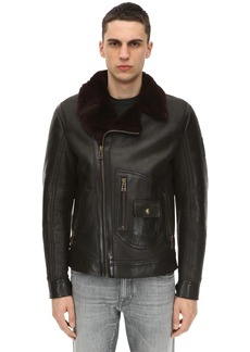 Belstaff New Danescroft Aviator Shearling Jacket