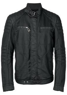 Belstaff New Weybridge rubberised fleece jersey jacket