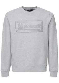 Belstaff Oulton Logo Patch Cotton Sweatshirt