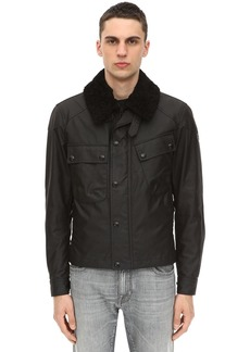 Belstaff Patrol Insulated Waxed Cotton Jacket