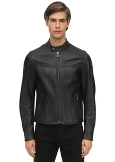 Belstaff Pelham Polished Leather Jacket