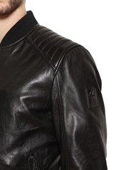 5523a6bb7 Belstaff Pershall Leather Bomber Jacket