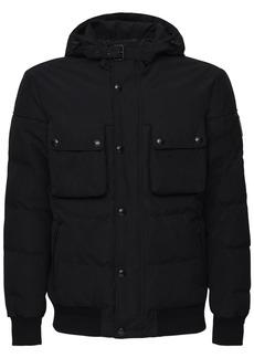 Belstaff Ridge 2.0 Hooded Tech Cotton Down Jacket