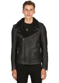 Belstaff Rumford Shearling Biker Jacket