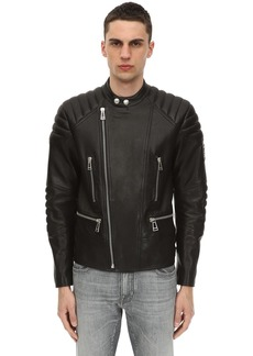 Belstaff Sidney Polished Leather Jacket