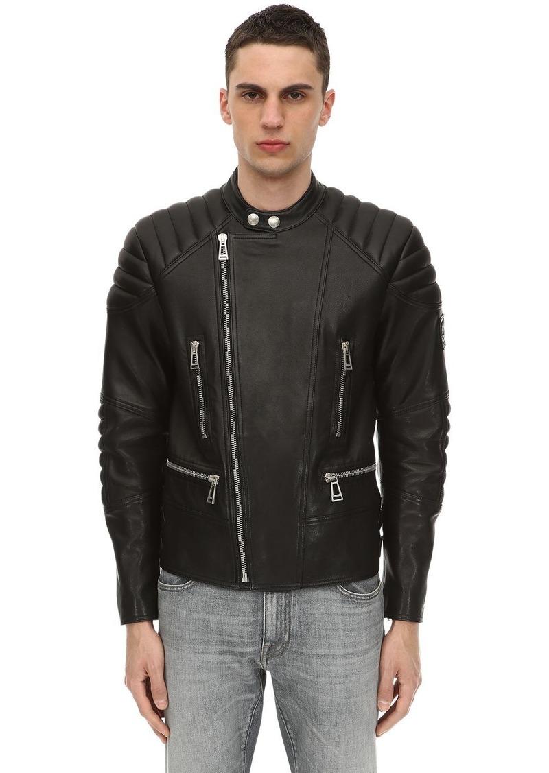Belstaff Sidney Polished Leather Jacket