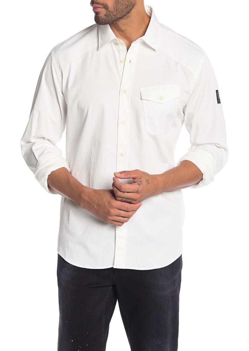 Belstaff Steadway Trim Fit Woven Shirt