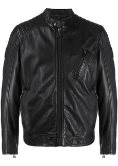 Belstaff stitched panel jacket