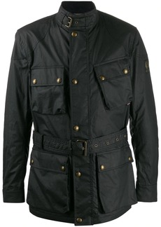 Belstaff Trialmaster belted military jacket