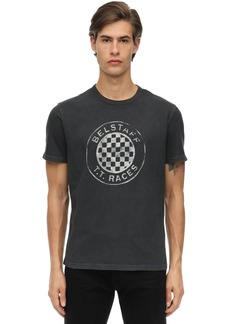 Belstaff T.t. Races Cotton Jersey T-shirt