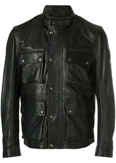 Belstaff zipped biker jacket