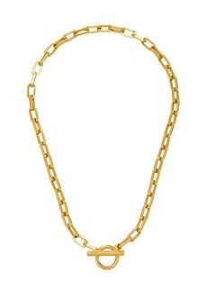 Ben-Amun - Women's Gold-Plated Small Link Necklace - Gold/silver - Moda Operandi
