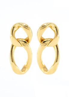 Ben-Amun - Women's Gold-Tone Metal Chain Earrings - Gold - Moda Operandi