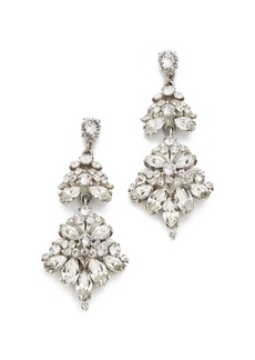 Ben-Amun Embellished Chandelier Earrings
