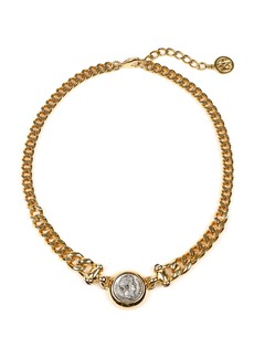 Ben-Amun Gold-Plated And Silver-Tone Necklace