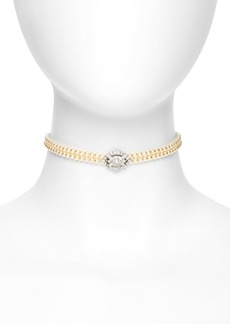 Ben-Amun Imitation Pearl Choker Necklace
