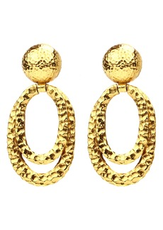 Ben-Amun Layered Hoop Clip Earrings
