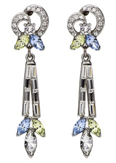 Ben-Amun Multicolor Baguette Earrings