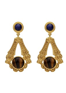 Ben-Amun Multicolor Deco Drop Earrings
