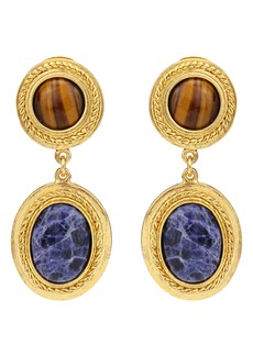 Ben-Amun Multicolor Drop Earrings