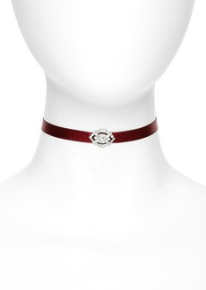 Ben-Amun Satin Choker Necklace