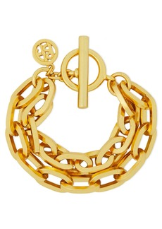 Ben-amun Woman 24-karat Gold-plated Bracelet Gold