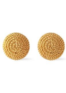 Ben-amun Woman 24-karat Gold-plated Clip Earrings Gold