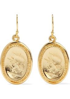 Ben-amun Woman 24-karat Gold-plated Earrings Gold