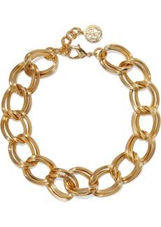 Ben-amun Woman 24-karat Gold-plated Necklace Gold
