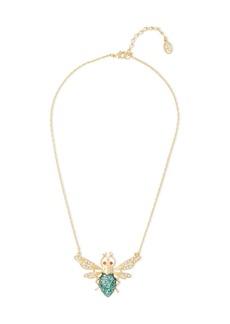 Ben-amun Woman 24-karat Gold-plated Swarovski Crystal And Stone Necklace Gold
