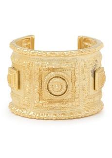 Ben-amun Woman 24-karat Gold-plated Cuff Gold