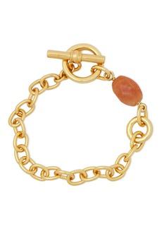 Ben-amun Woman Gold-tone Stone Bracelet Gold