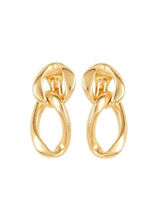 Ben-Amun Dual Chain Drop Earrings