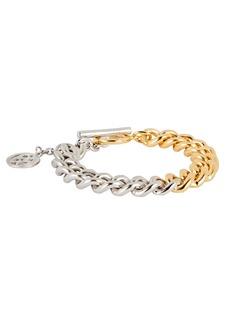 Ben-Amun Mixed Metal Curb Chain Bracelet