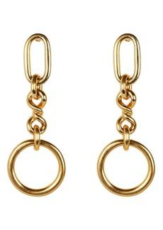 Ben-Amun Valeria Chain Drop Earrings