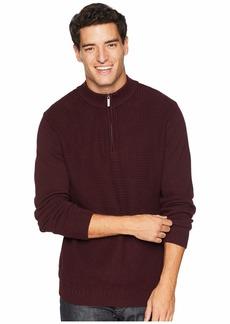Ben Sherman 1/4 Zip Funnel Neck Sweater