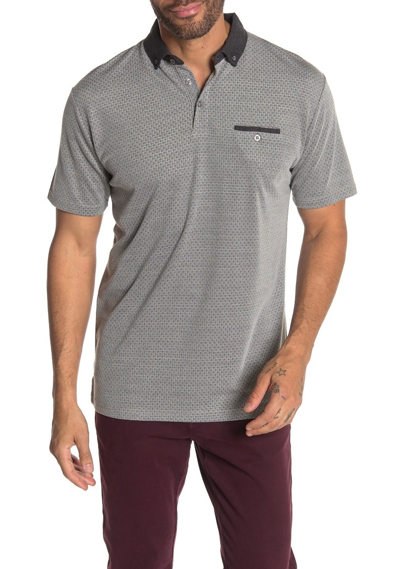 Ben Sherman Basketweave Classic Fit Polo Shirt