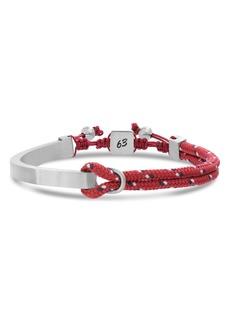Ben Sherman Adjustable ID Bracelet