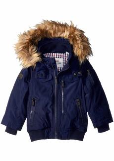 Ben Sherman Boys' Little Short Parka Jacket