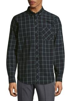Ben Sherman Checkered Cotton Casual Button-Down Shirt
